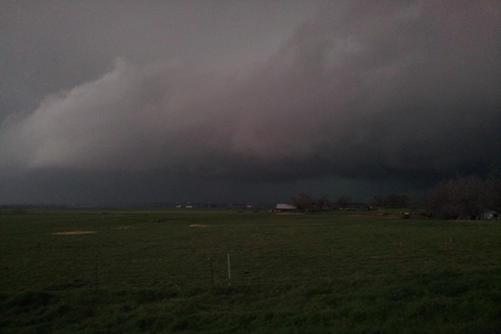 South of Chickasha, OK