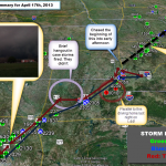 Storm Chase Review of April 17, 2013