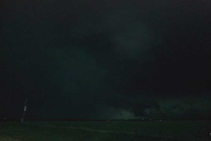 West of Sterling, OK