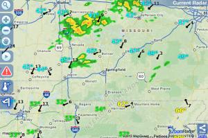 Pan/Zoom Radar Snapshot at 6:35 a.m.
