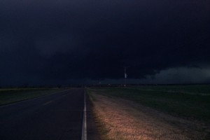 Wall Cloud Near Sterling, OK 4/17/13