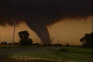 A Tornado From a Chase in Kansas