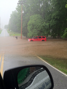 Flooding Near Weaver Road (Jason Harlow)