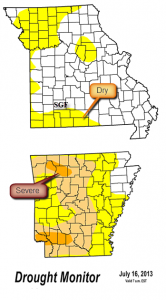 Drought Monitor - July 16th