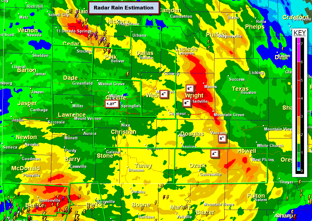More Rain On the Way » Ozarks Weather