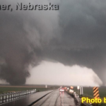 Twin Tornadoes In Nebraska On Monday