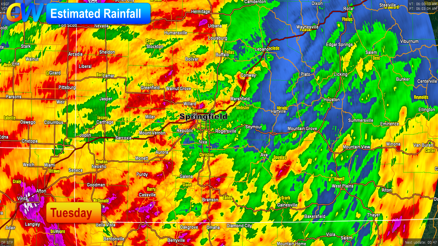 Decent Rains with Fall Temperatures Coming